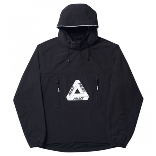 Palace Over Park Shell Top Jacket (Black)
