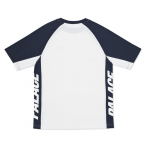 Palace Vertical Label T-Shirt (White/Blue)