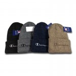 Champion Logo Knit Beanie Hat Collection