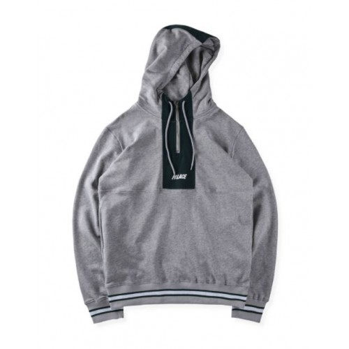 Palace Quicker Shell Hoodie (Gray)
