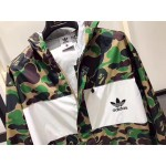 A Bathing Ape BAPE Ad Raincoat Jacket (Green)