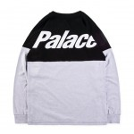 Palace 18SS Two Week Long Sleeve Sweater (Gray/Black)