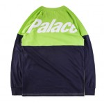 Palace 18SS Two Week Long Sleeve Sweater (Green/Navy)