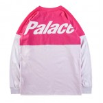 Palace 18SS Two Week Long Sleeve Sweater (Pink/White)