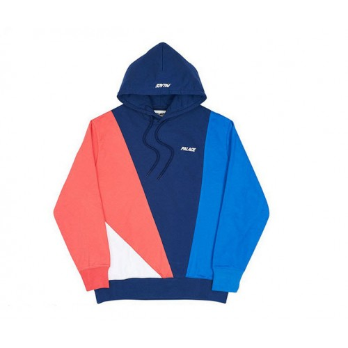 Palace Autumn Section Hooded Sweater (Navy)