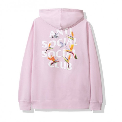 Anti Social Social Club ASSC 19FW Pair Of Dice Hoodie (Pink)