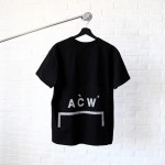 ACW A Cold Wall ACW Silver Gird T-Shirt (Black)