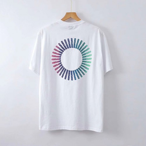 Undefeated Circular Gradient T-Shirt (White)