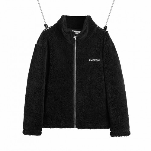 Ambush 19FW Wool Fleece Jacket (Black)