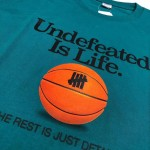 Undefeated Is Life Basketball T-Shirt (Green)