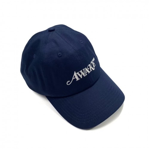 AWAKE NY 6 Panel Logo Cap (Navy/Blue)