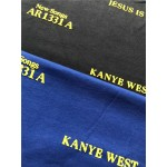 CPFM Jesus IS King Crewneck Sweater (Blue)