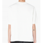Ami Embroidered Red Heart Logo T-Shirt (White)