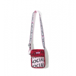 Anti Social Social Club ASSC Its The Remix Side Bag (Red)