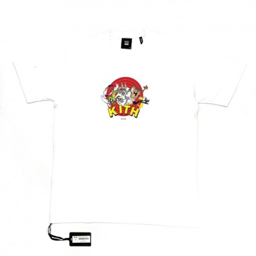Kith Looney Tunes Friends T-Shirt (White)